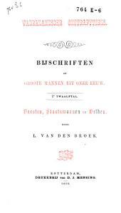 Vaderlandsche conterfytsels: bijschriften op groote mannen uit onze eeuw