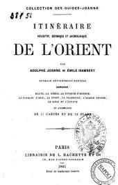 Itinéraire descriptif, historique et archéologique de l'Orient par Adolphe Joanne et Emile Isambert