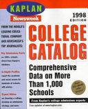 Kaplan Newsweek College Catalog 1998 PDF