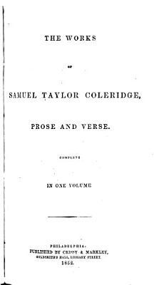 The Works of Samuel Taylor Coleridge PDF