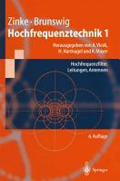 Hochfrequenztechnik 1 PDF