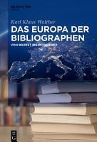 Das Europa der Bibliographen PDF