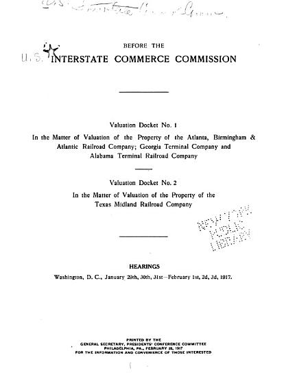 Valuation Docket No  1 PDF