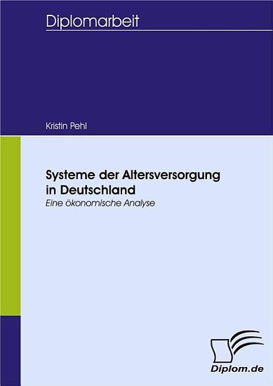 Systeme der Altersversorgung in Deutschland PDF