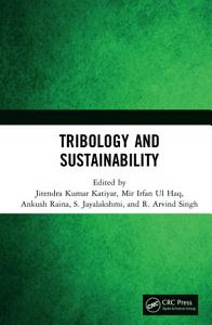 Tribology and Sustainability PDF