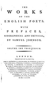 The Works of the English Poets: With Prefaces, Biographical and Critical, Volume 13, Page 1