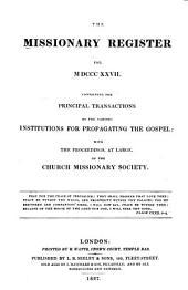 Missionary Register: Volume 15