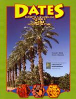 Imported and American Varieties of Dates  Phoenix Dactylifera  in the United States PDF