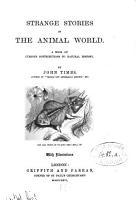 Strange Stories of the Animal World PDF