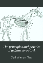 The Principles and Practice of Judging Live-stock