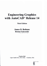 Engineering Graphics with AutoCAD Release 14 PDF