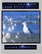 Seagull on a Beach Cross Stitch Pattern