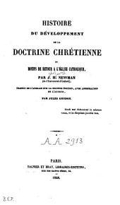 Histoire du développement de la doctrine chrétienne ou motifs de retour à l'Eglise catholique