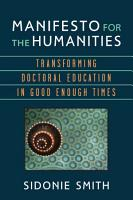 Manifesto for the Humanities PDF