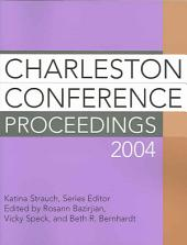 Charleston Conference Proceedings 2004