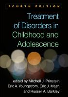 Treatment of Disorders in Childhood and Adolescence  Fourth Edition PDF