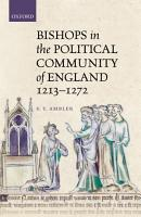 Bishops in the Political Community of England  1213 1272 PDF
