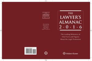 The Lawyer s Almanac  2016 Edition PDF