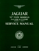 Jaguar E-Type 38/42 Ser 1&2 Ws