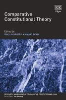 Comparative Constitutional Theory PDF