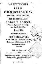 Las Costumbres de los christianos
