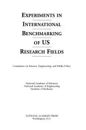 Experiments in International Benchmarking of U.S. Research Fields