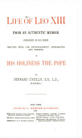LIFE OF LEO XIII FROM AN AUTHENTIC MEMOIR PDF