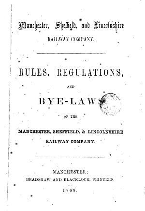 Manchester  Sheffield and Lincolnshire Railway Company