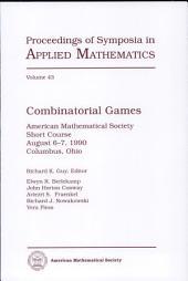 Combinatorial Games