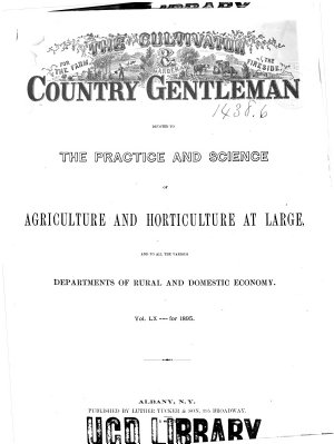 The Cultivator   Country Gentleman PDF