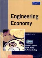 Engineering Economy  14 E PDF