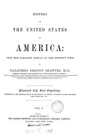 History of the United States of America: Volume 1