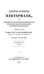 Nederlandsche rechtspraak, of Verzameling van arresten en gewijsden van den Hoogen raad der Nederlanden: Deel 108