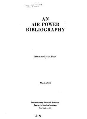An Air Power Bibliography
