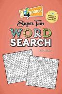 Go games Super Fun Word Search PDF