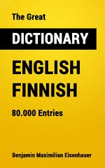 The Great Dictionary English - Finnish