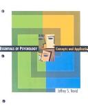 Essential Psychology Looseleaf  Custom Publication PDF