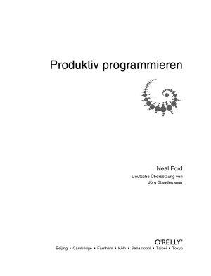 Produktiv programmieren PDF