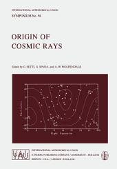 Origin of Cosmic Rays