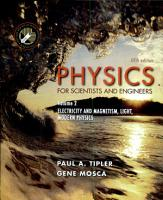 Physics for Scientists and Engineers  Volume 2  Electricity  Magnetism  Light  and Elementary Modern Physics PDF
