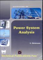 Power System Analysis PDF