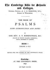 The Book of Psalms: Book I, Psalms i-xli