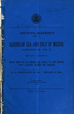 The Navigation of the Caribbean Sea and Gulf of Mexico     PDF