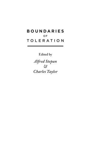 Boundaries of Toleration
