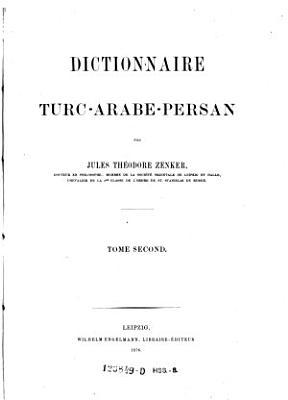 T  rkisch Arabisch Persisches Handw  rterbuch PDF