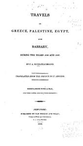 Travels in Greece, Palestine, Egypt, and Barbary, During the Years 1806 and 1807