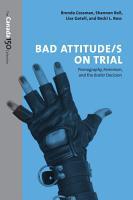 Bad Attitude s  on Trial PDF