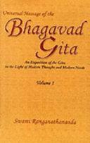 Universal Message of the Bhagavad Gītā