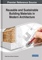 Reusable and Sustainable Building Materials in Modern Architecture PDF