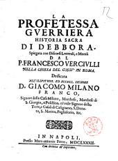 La Profetessa Gverriera Historica Sacra di Debbora